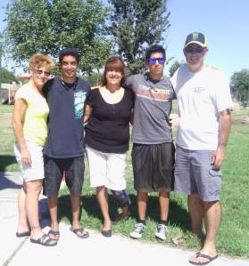 family and debbie